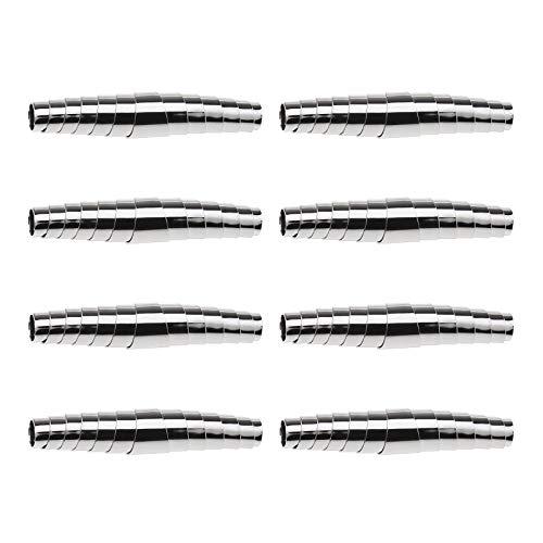 Be In Your Mind 8 piezas espiral Secateur plumas de acero inoxidable tipo general tijeras de podar muelles de repuesto 5,8 cm accesorios para herramientas de jardín