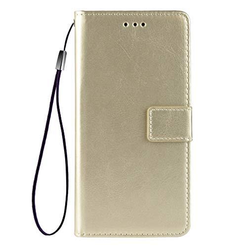 GOGME Funda para Nokia X10 | X20 Funda con Billetera, Premium Leather Folio PU/TPU Libro Piel de Cuero Flip Carcasa Case Cover con Ranuras para Billetera y Tarjetas, Oro