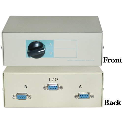 AB 2 Way Switch Box, DB9 Female