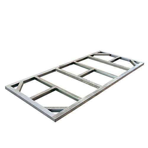 Tepro Metall-Unterkonstruktion, Pent Roof, silber, 112x253x5 cm, 7103
