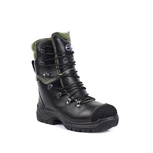 Lavoro - Calzado de protección de Piel para hombre negro / verde