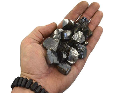 Keled_R x202F;: 100 g Elite Shungite pierres pour purification d'eau, B: 1-3 cm per one stone