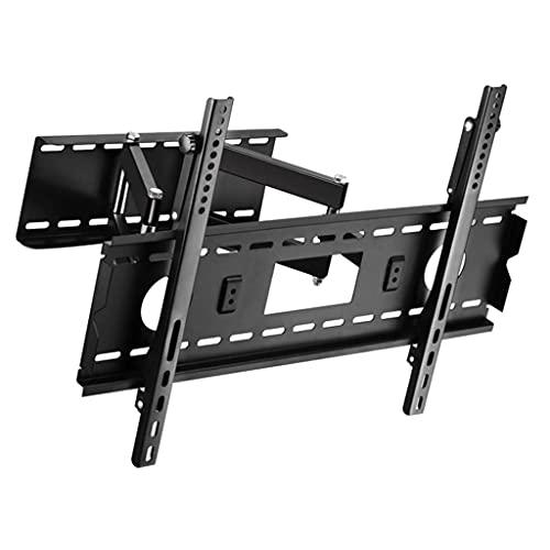 FACAZ Brazo Giratorio con bisagras Soporte de Montaje en Pared para TV Soporte telescópico VESA hasta 75 * 75-100 * 100 mm TV Universal de 32-75 Pulgadas (Color: Negro)