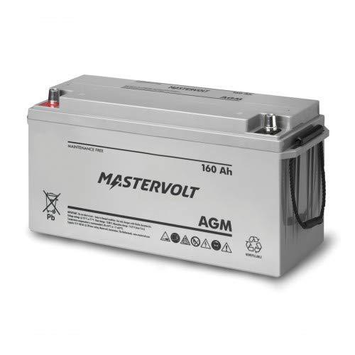 Mastervolt AGM-Batterie Batteriespannung 12 V, Kapazität 160 Ah, Bauart Standard