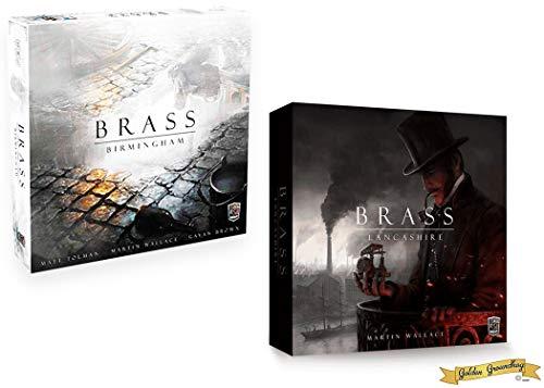 Roxley Games Bundle - Features Brass: Birmingham and Brass: Lancashire Board Games!