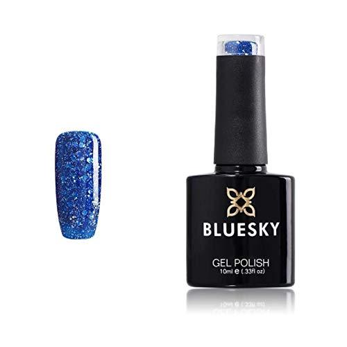 Bluesky UV LED Gel auflösbarer Nagellack - diamond storm, 1er Pack (1 x 10 ml)