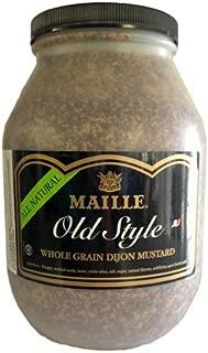 Maille Old Syle Dijon Mustard, Whole Grain - 8.6# Jar