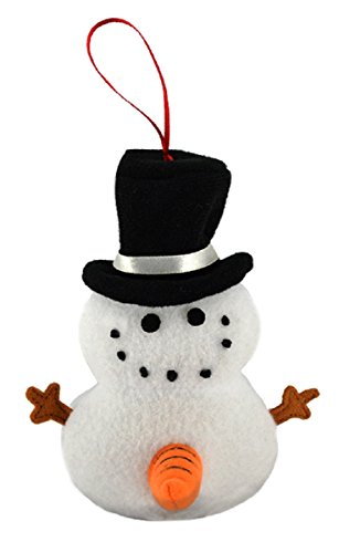 Tekky Toys-Naughty Dirty Talking Snowman Funny Tree Ornament With 3 Hilarious quotes for the Holidays