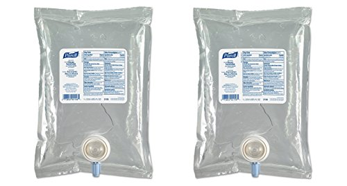 PURELL 215608CT Advanced Instant Hand Sanitizer NXT Refill, 1000mL (Case of 8) (2 X Pack of 8)
