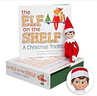 elf on the shelf with blonde hair