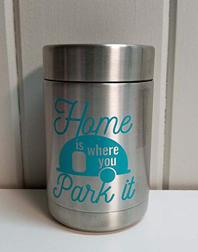 Home is Where You Park It Can Cooler Stocking Stuffer