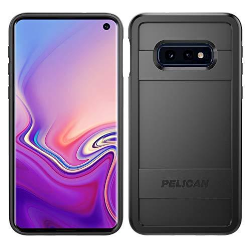 Preisvergleich Produktbild Pelican Protector Samsung Galaxy S10e Phone Case,  Drop-Tested Protective Smartphone Cover,  Wireless Charging-Compatible Accessory (Black / Gray)