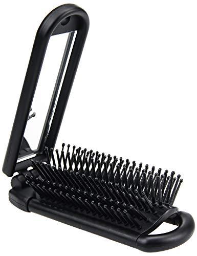 Ancable Cepillo plegable para el pelo con espejo...