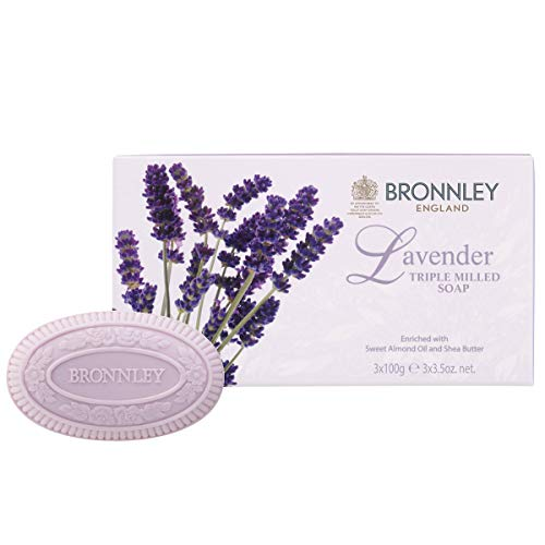 Bronnley Lavender Triple Milled Fine English Soap 100g