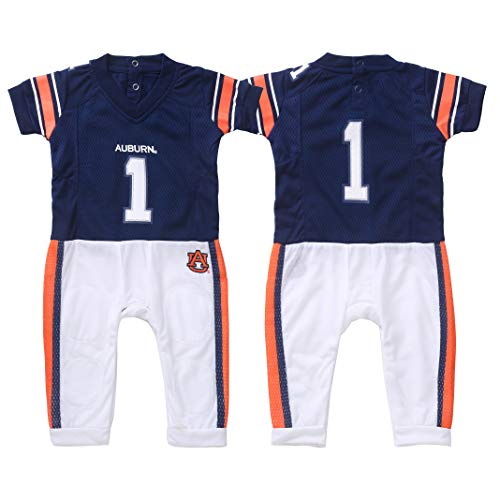 Auburn Tigers NCAA Donegal Bay Baby No Show 12-24 Months Socks