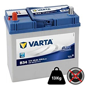 Batería de coche Varta 45Ah Modelo B34
