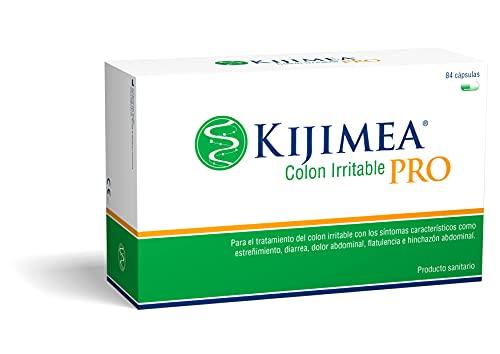Kijimea Colon Irritable Pro, Una Terapia Contra El Síndrome del Colon Irritable (Diarrea, Dolor Abdominal, Flatulencia, Estreñimiento), Producto Vegano, Sin Gluten ni Lactosa, Verde, 84 cápsulas