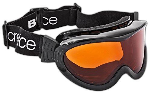 Black Crevice Erwachsene Skibrille, schwarz, One size
