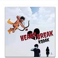 コダックプロジェクトアルバムカバーアートポスターキャンバス絵画家の装飾ポスターとプリント十代の女の子のための部屋の装飾60x60cmフレームなし