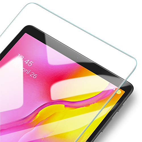 ESR Protector de Pantalla para Samsung Galaxy Tab A 10.1 (2019) SM-T510/T515,Cristal Templado, Transparencia HD, Alta Sensibilidad táctil, Resistente a Huellas para Samsung Tab A 10.1 2019