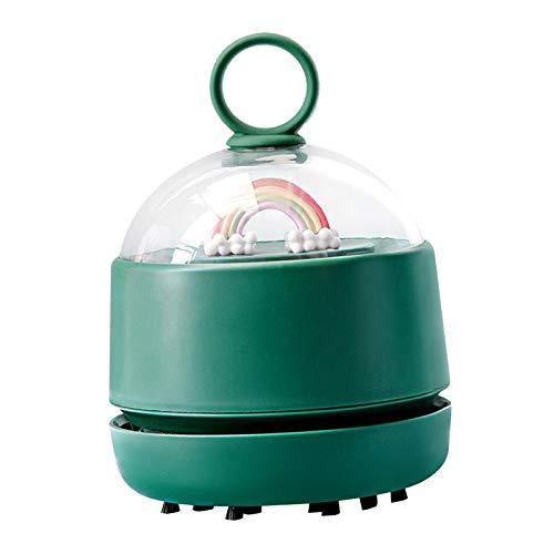 MERIGLARE Aspiradora Portátil, Barredora de Polvo de de Mano, Ahorro de Energía - Verde, Individual