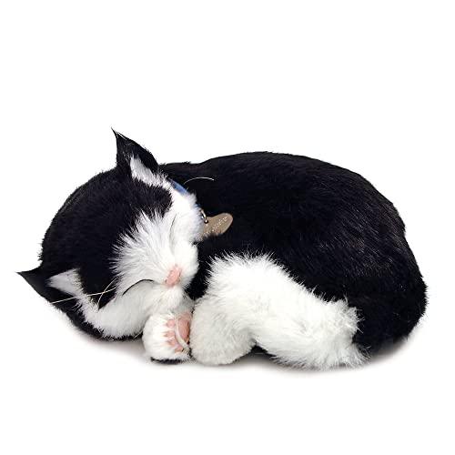 Perfect Petzzz – 4932 – Plüschtier – schwarz-weiße Kurzhaar-Katze.