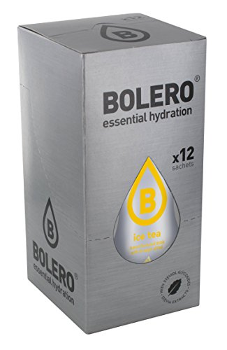 Bolero Preparado para Bebida, Sabor Ice Te Limon - 12 sobres