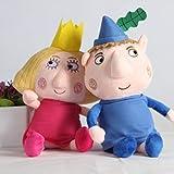 Juguete De Peluche 2 Piezas 30 Cm Ben Y Holly Juguetes De Peluche Dibujos Animados Ben Holly Figuras Muñecas Niños Cumpleaños