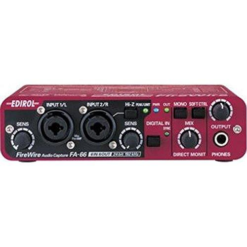 Edirol FA-66 6 x 6 FireWire Audio Interface