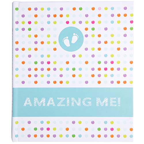 Baby Book First Years – Baby Memory Journal – Child Scrapbook Album – 5 Year Gender Neutral Baby Book – Baby Shower Gifts for Mom – Toddler Child Log – Photo Record & Milestone Journal
