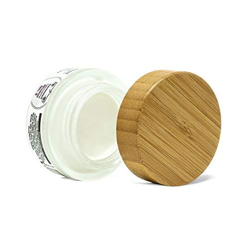 mousseYmousse Deocreme im Glas 30ml Woman No.3, festes Deodorant ohne Aluminium, Naturkosmetik Creme Deo nachhaltig und vegan