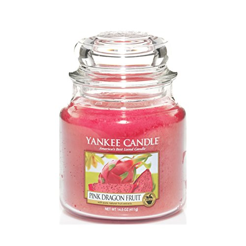 Yankee Candle Candela a Vaso Medio, Pink Dragon Fruit
