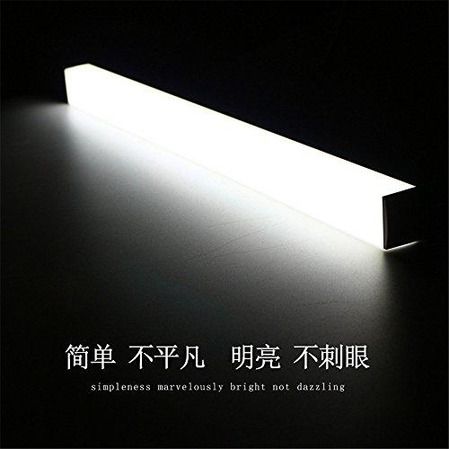 YU-K Modern Home Decorating Wandlamp Wandlamp Spiegel LED Spiegel Voorlichten Badkamer Badkamer Wandlamp Spiegelkasten Badkamer Spiegel Licht Muur Licht, 50cm