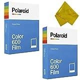 2-Pack Originals Instant Color 600 Instant Film for 600 and i-Type Cameras White Frame