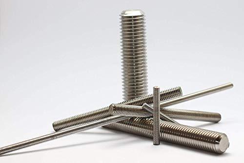 5 Stück Gewindebolzen, Gewindestange, DIN 976-A4 M10x120