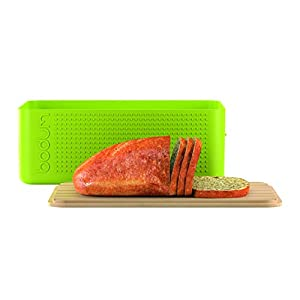 BODUM Large Bread box - Lime Green