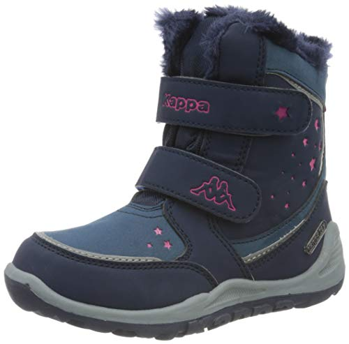 Kappa Unisex Kinder CUI TEX Sneaker, 6722 Navy/pink,30 EU