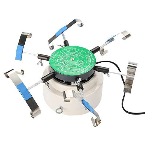 TOOGOO 220V Automic Test Cyclotest Uhren Prüf Ger?t Uhren Prüf Maschine - Uhren Beweger für Sechs Uhren Gleichzeitig Eu Stecker