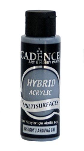 Cadence Pintura Acrílica Multisuperficie Hybrid Gris Pizarra Oscura Ref. H058