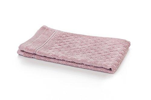 myHomery Frottier Handtücher aus 100% Baumwolle - Sets mit Gästehandtücher, Duschtuch, Saunatuch, Waschlappen und Badetuch - Saunahandtuch - Handtuch Altrosa | 5er-Set Gästehandtücher