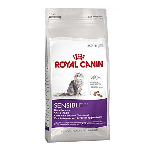 ROYAL CANIN Sensible Cat Alimentos secos para gatos adultos equilibrados y completos alimentos para gatos 2 kg ⭐