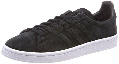 adidas Campus Stitch And Turn, Scarpe da Ginnastica Basse Uomo, Nero (Core Black/Core Black/Footwear White), 40 2/3 EU