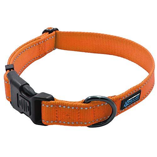 Max and Neo NEO Nylon Buckle Reflective Dog Collar...