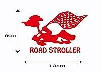世田谷ベース ステッカー ロードストローラー モータース シール US アメ車 旧車 トラック ハーレー カブ エアフォース ステンシル