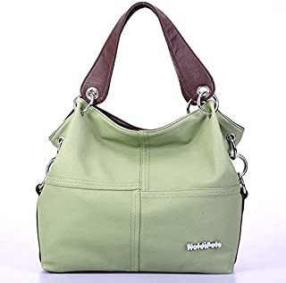 Vintage Shoulder Bag for Women - Olive