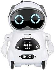 Robot per Bambini, Registrazione di Giocattoli Robotici Robot Parlante per Bambini, Registrazione di Giocattoli Robotici Robot Parlante per Bambini Robot Educativo Mini Robot Giocattoli