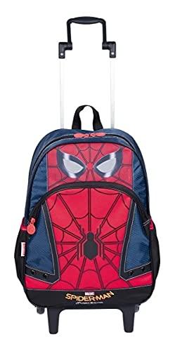 Mochila Homem Aranha Spider 18y Rodinhas Tam G Sestini 2018