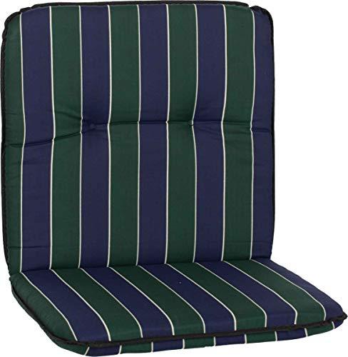 Beo Gartenmöbel Auflage Streifen grün blau Niedriglehner Eagle MS06
