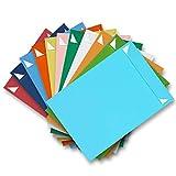 ARTOZ 15x DIN C4 Umschläge mit Haftklebung - höchste Qualität - 229 x 324 mm - Mehrfarbig (Farbauswahl zufällig) Briefumschläge ohne Fenster - Serie 1001