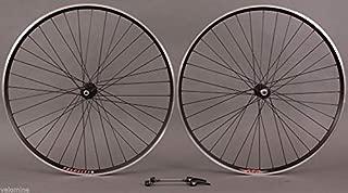 Velocity A23 Black Rims 105 7000 32h Hubs Wheelset Road & CX Bike Wheels